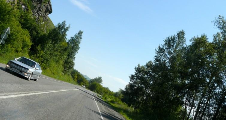 НН - Алтай 041 между Бийском и Горно-Алтайском