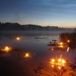 Празднование дня Ивана Купалы на озере Светлояр. Нижегородская область