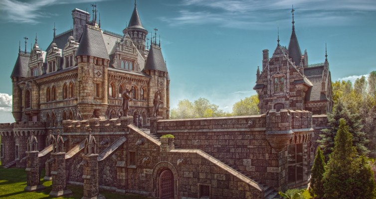Замок Гарибальди — ожившая сказка. Поселок Хрящевка, Самарская область.