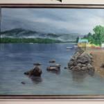 Туманное Телецкое озеро