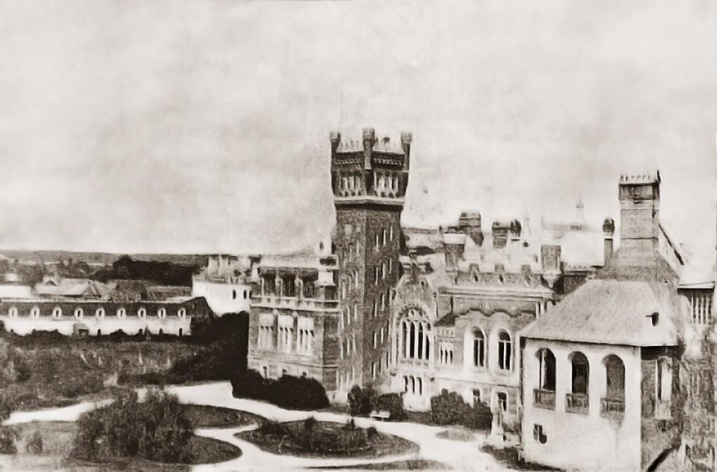юрино, замок, шереметьевский замок