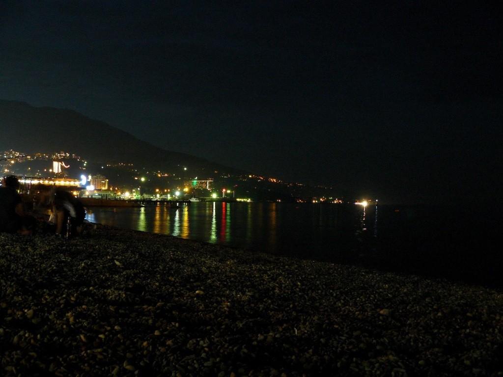 Crimea, Крым, Ялта, ночь