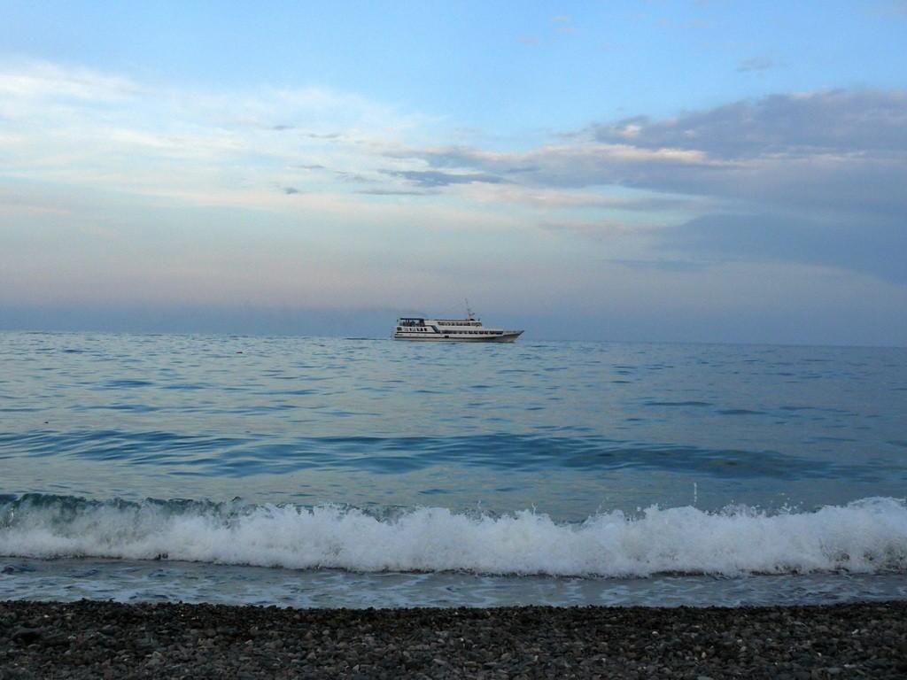 Crimea, Крым, Ялта, море, корабль