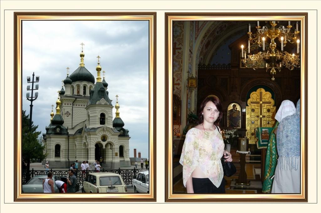 Crimea, Крым, Форосская церковь