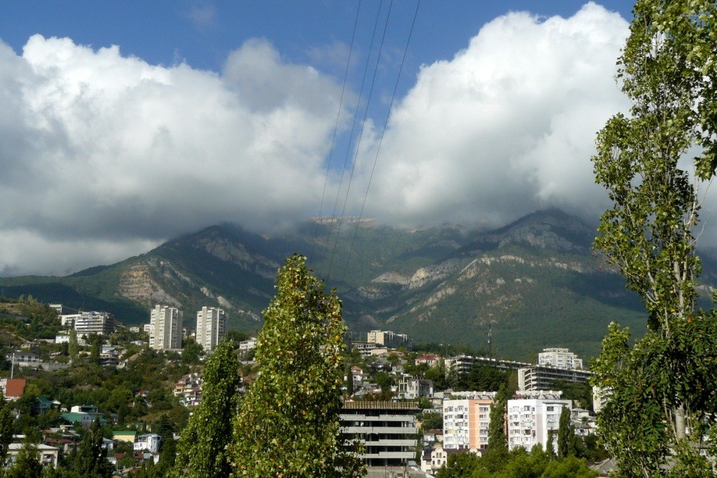 Crimea, Крым, Ялта, горы