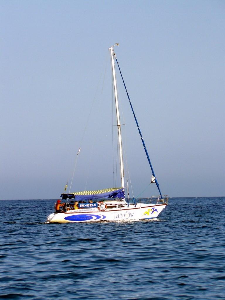 Crimea, Крым, море, яхта