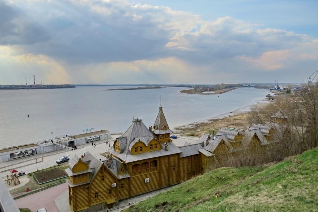 Городец, Волга, город мастеров