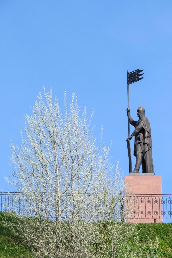Александр Невский, Городец
