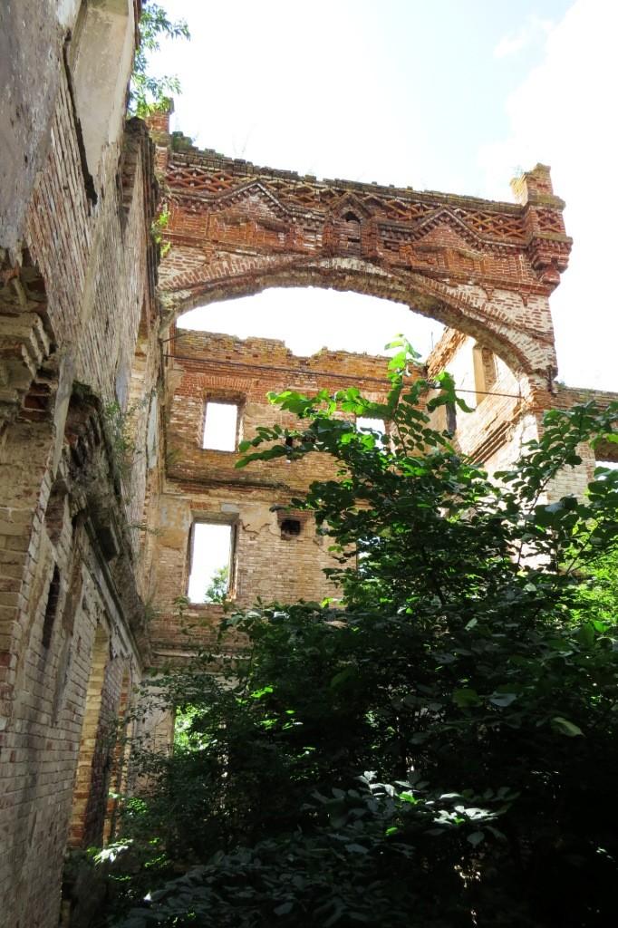 Замок Оболенских, Красная Горка, Нижегородская область