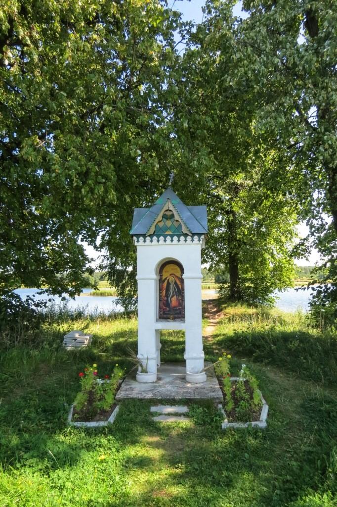 Ворсма, Троицкий Островоезерский монастырь, озерный монастырь