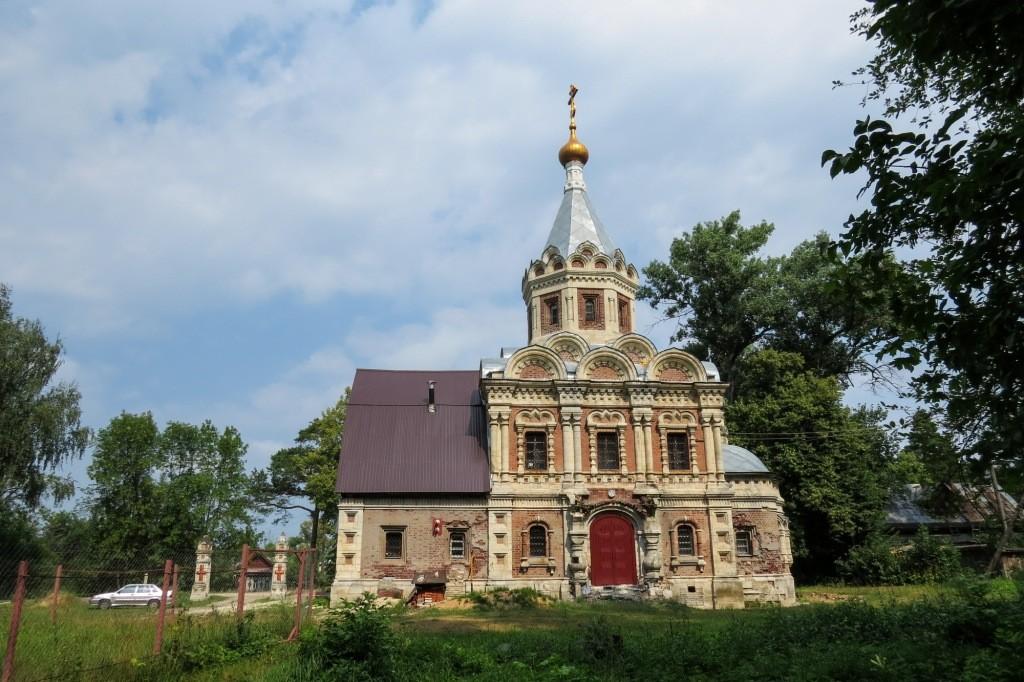 церковь, Замок Храповицкого, Храповицкий, усадьба, Муромцево, замок в Муромцево
