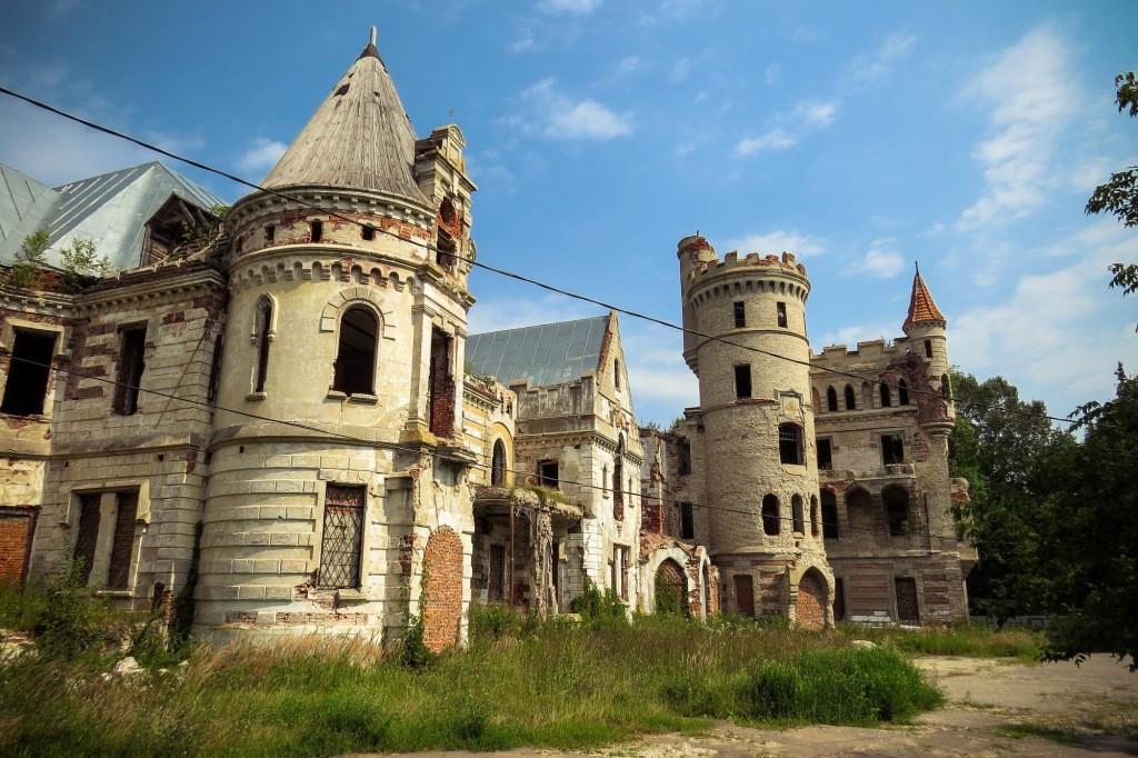 Замок Храповицкого, Храповицкий, усадьба, Муромцево, замок в Муромцево