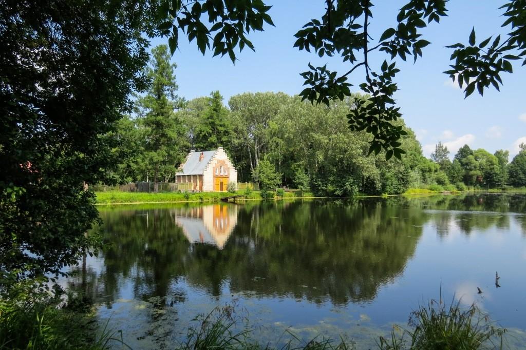 Замок Храповицкого, Храповицкий, усадьба, Муромцево, замок в Муромцево, лодочная станция, озеро