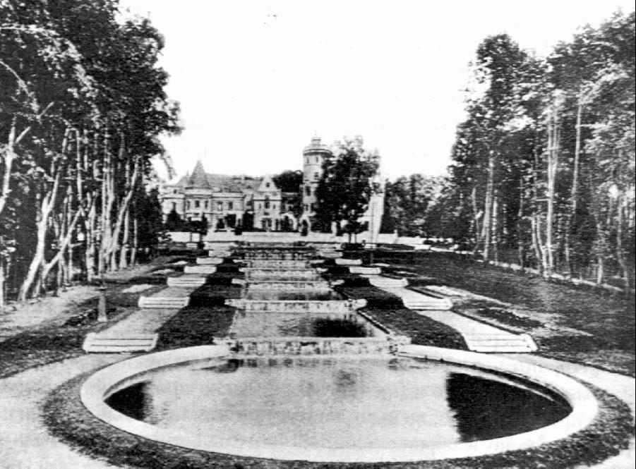 Замок Храповицкого, Храповицкий, усадьба, Муромцево, замок в Муромцево, старое фото, ретро, как было, история