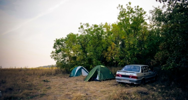 Путешествие в Крым на автомобиле. Дорога, стоянки, паромная переправа и немного забавных моментов пути