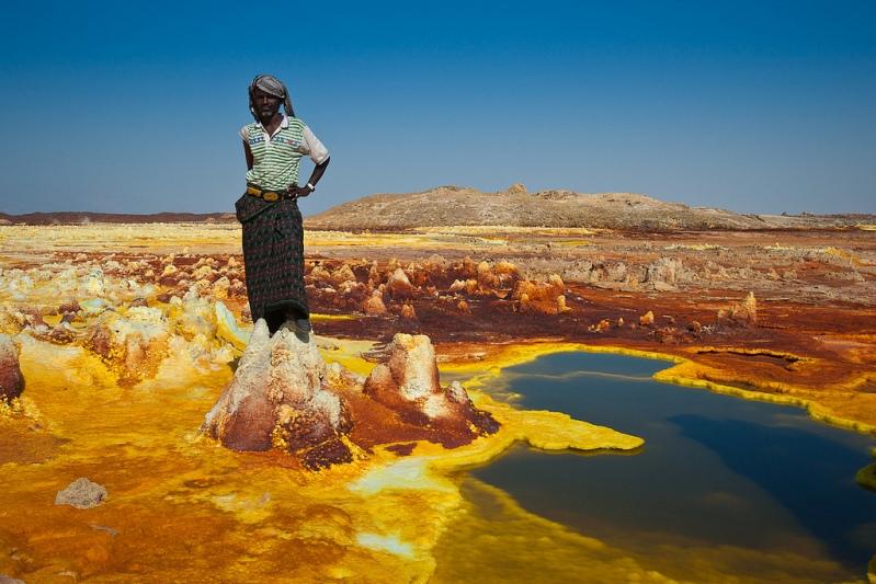 Пустыня Данакиль, ехать нельзя, страшные места,