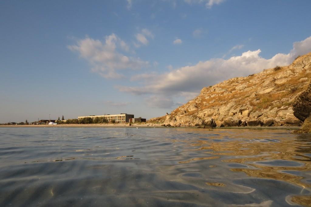 Казантип, Крым, отдых с палатками