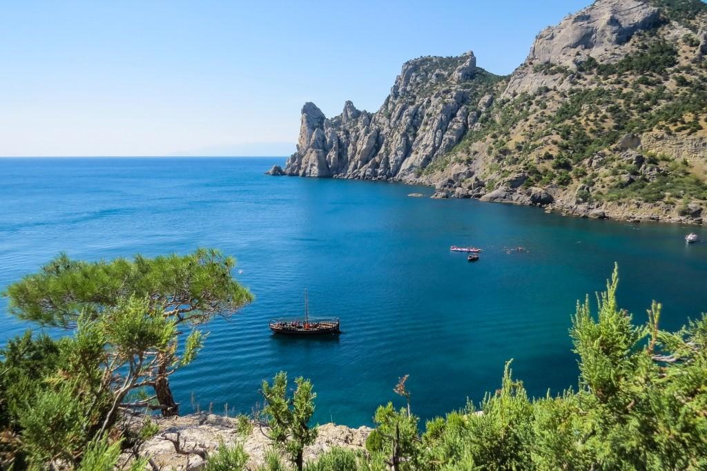 Новый свет, голубая бухта, парадиз, тропа Голицына, Крым