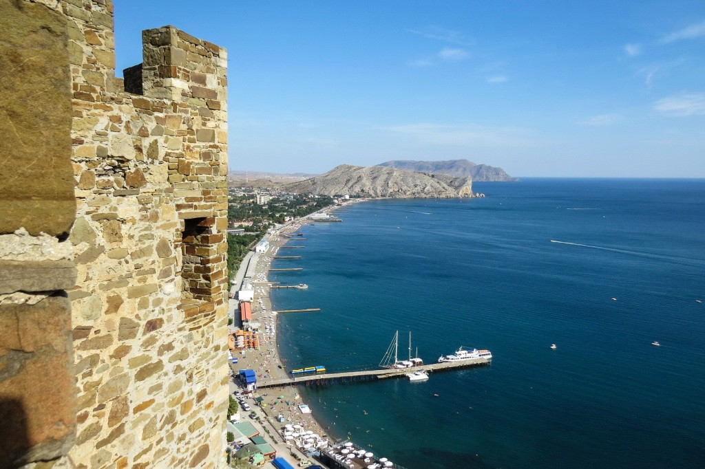 Судак, генуэзская крепость, крепость, Крым
