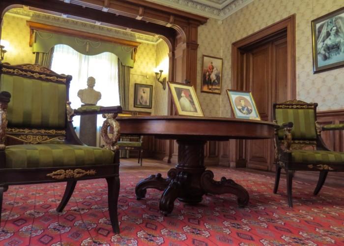 Массандра, Крым, дворец Александра, внутри дворца