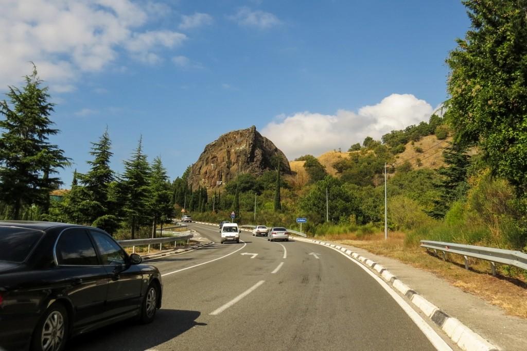 южнобережное шоссе, дорога, Крым, Севастополь