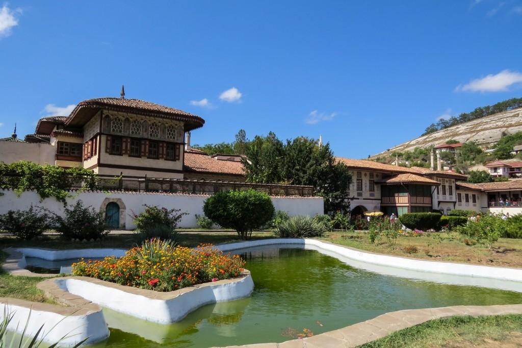 Крым, Бахчисарай, ханский дворец, Бахчисарай ханский, бахчисарай фото, бахчисарай крым,  достопримечательности