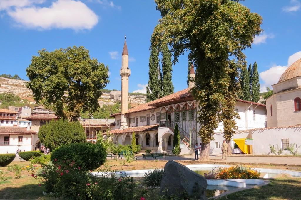 Крым, Бахчисарай, ханский дворец, мечеть Хан-Джами, Бахчисарай ханский, бахчисарай фото, бахчисарай крым, достопримечательности