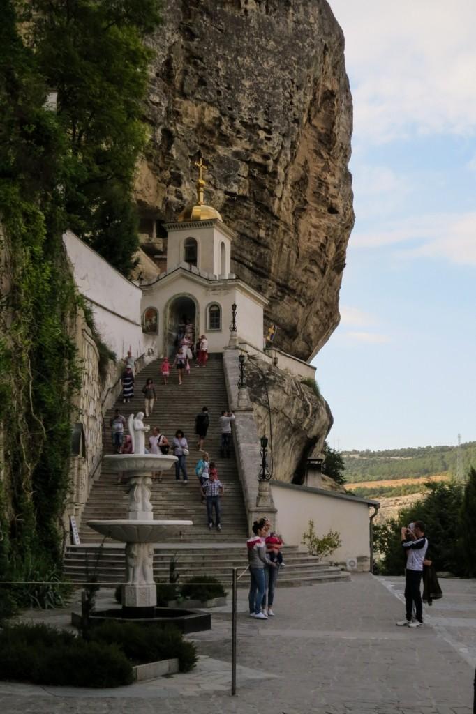 пещерный монастырь, монастырь, успенский монастырь, Бахчисарай, Крым