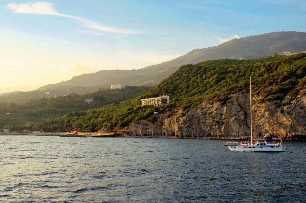 Морская прогулка, Крым, побережье, Ялта,