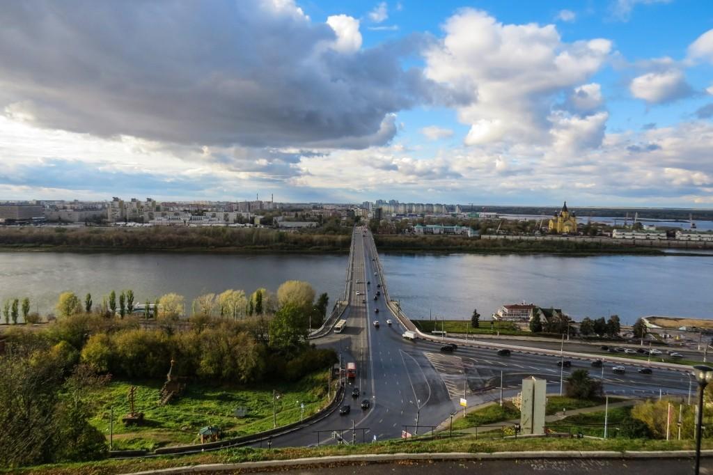 Канавинский мост, Набережная Федоровского, достопримечательности Нижнего Новгорода, Нижний Новгород