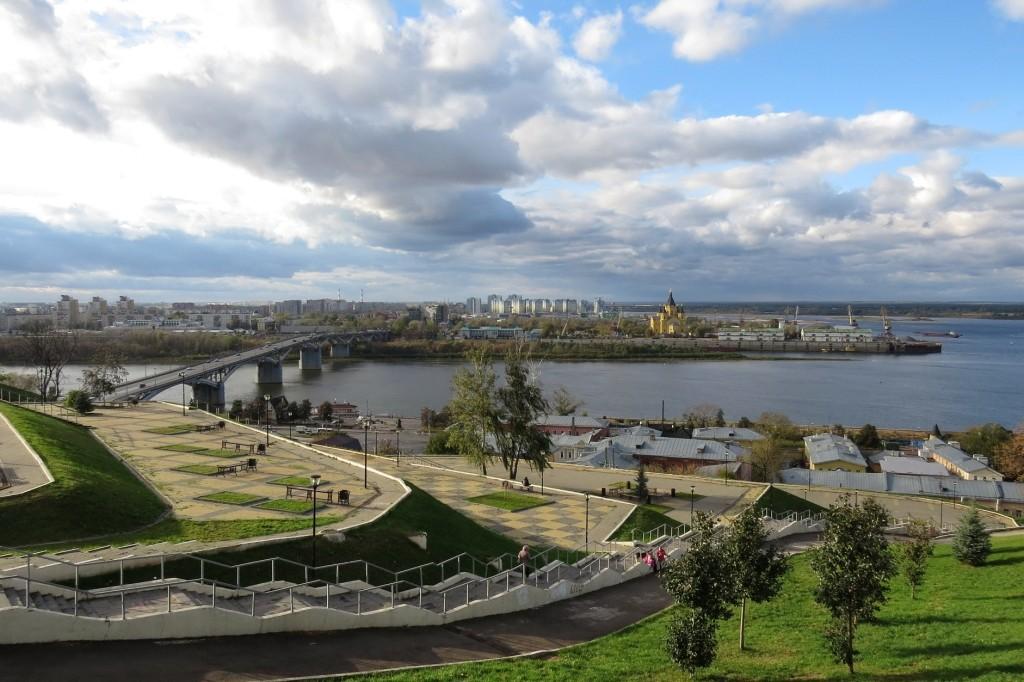 Набережная Федоровского, достопримечательности Нижнего Новгорода, Нижний Новгород