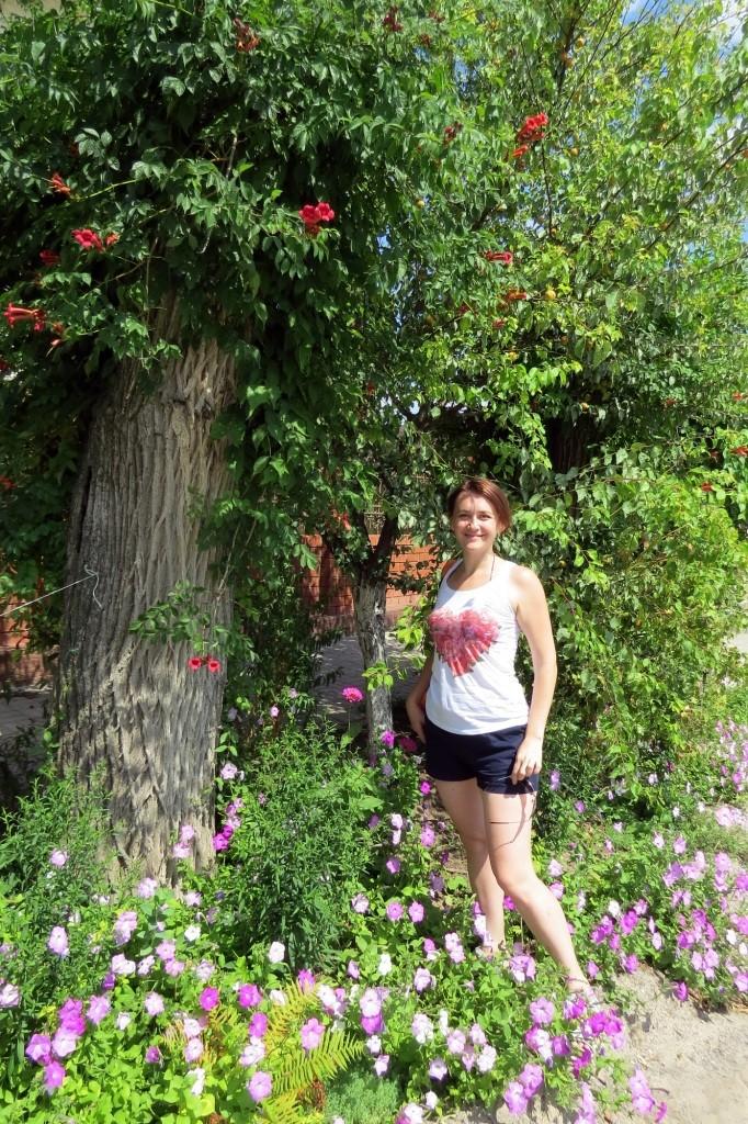 Цимлянск, Цимла, цветы