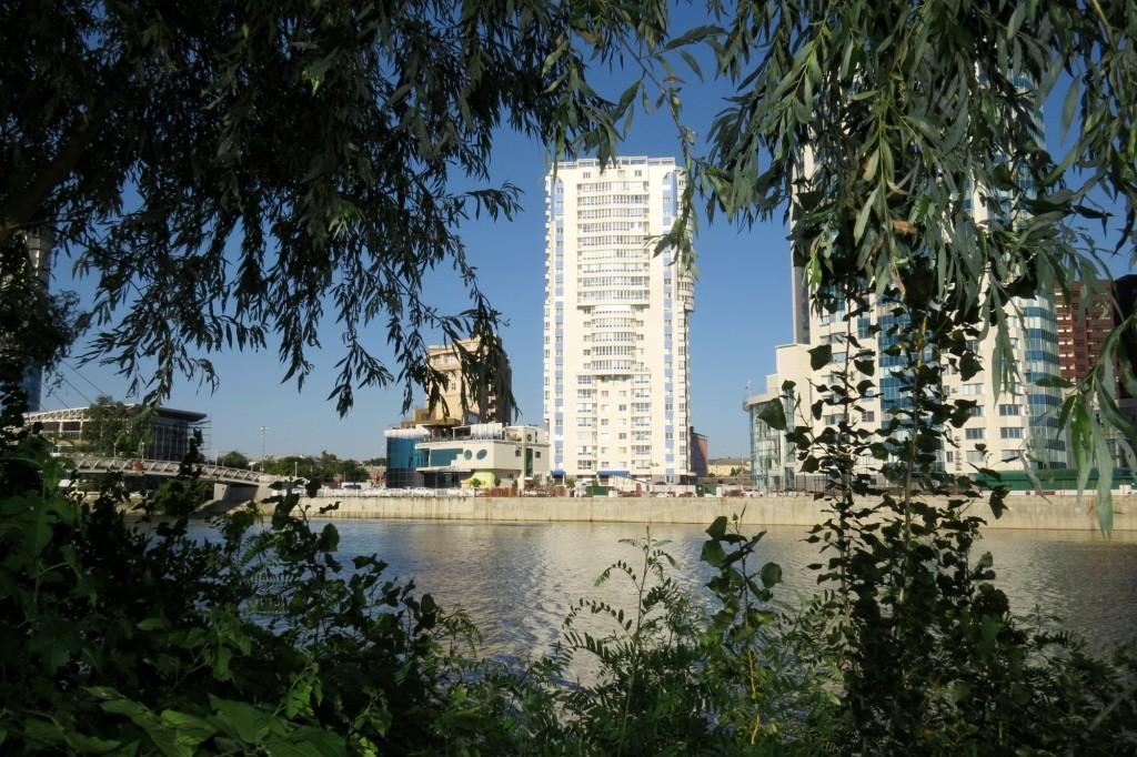 Краснодар, Кубань, река, парк Победы,