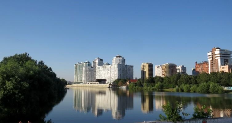 Краснодар, Кубань, река, парк Победы, затон