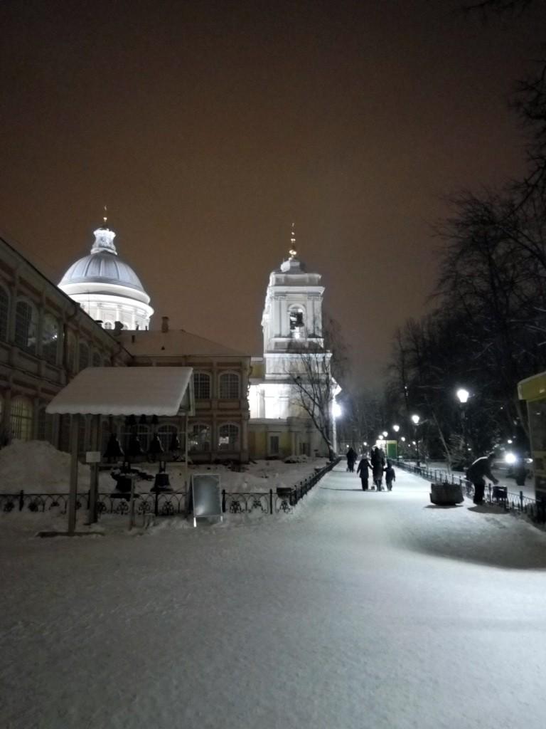 Александро-Невская лавра, Санкт-Петербург, Питер, прогулка, зима, Невский проспект,