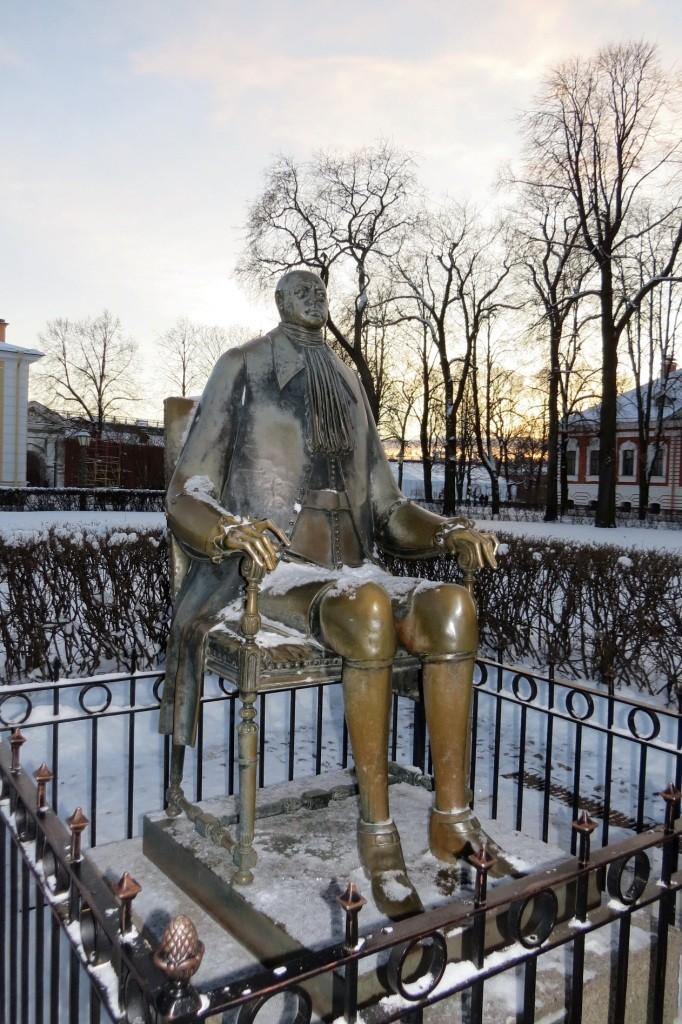 Петропавловская крепость, Санкт-Петербург, Питер, зима,