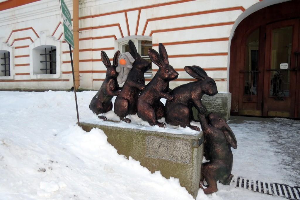 Зайцы, Санкт-Петербург, Петропавловская крепость