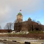 Выборгский замок и другие интересные места города. Прогулка по Выборгу