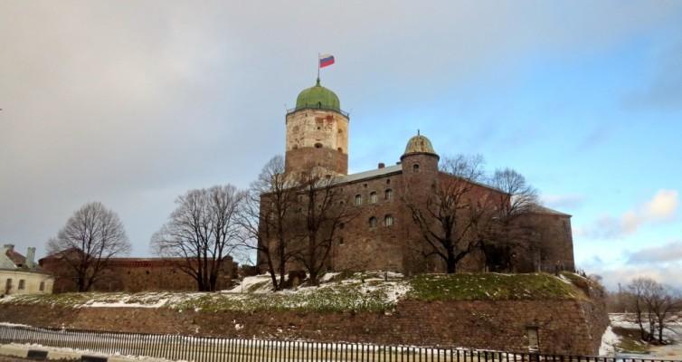 Выборг, выборгский замок, крепость