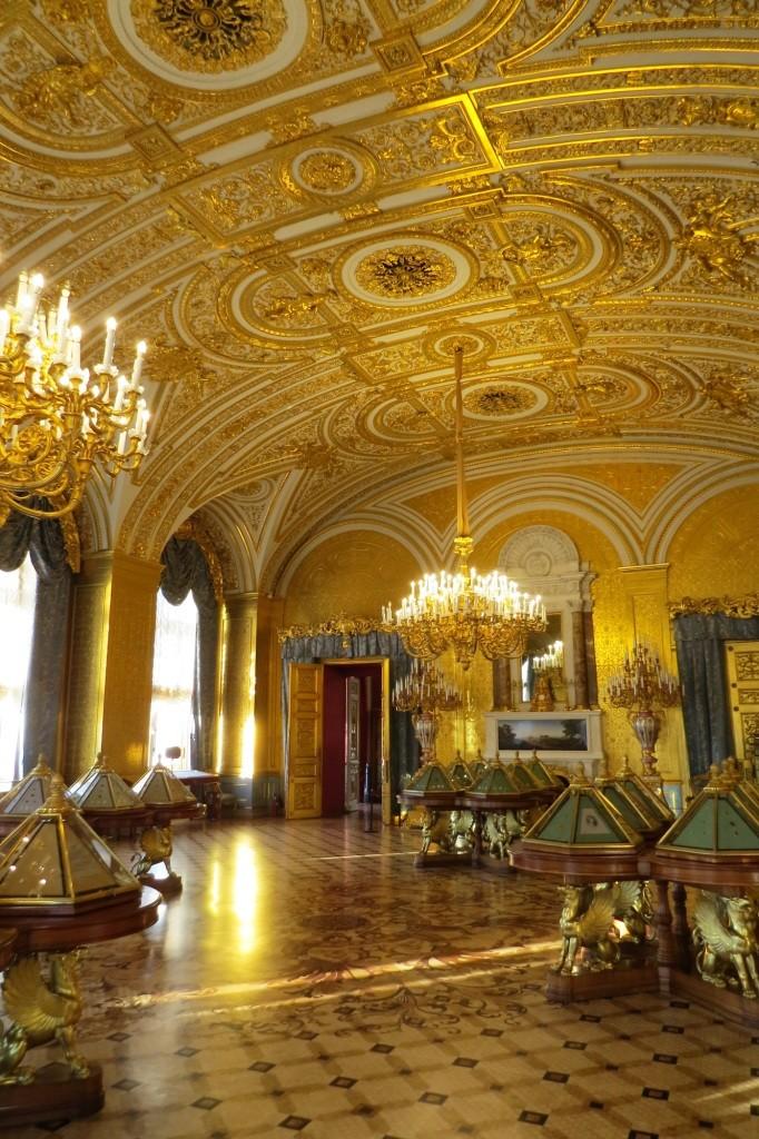 Золотая комната, Эрмитаж, Зимний дворец, Санкт-Петербург