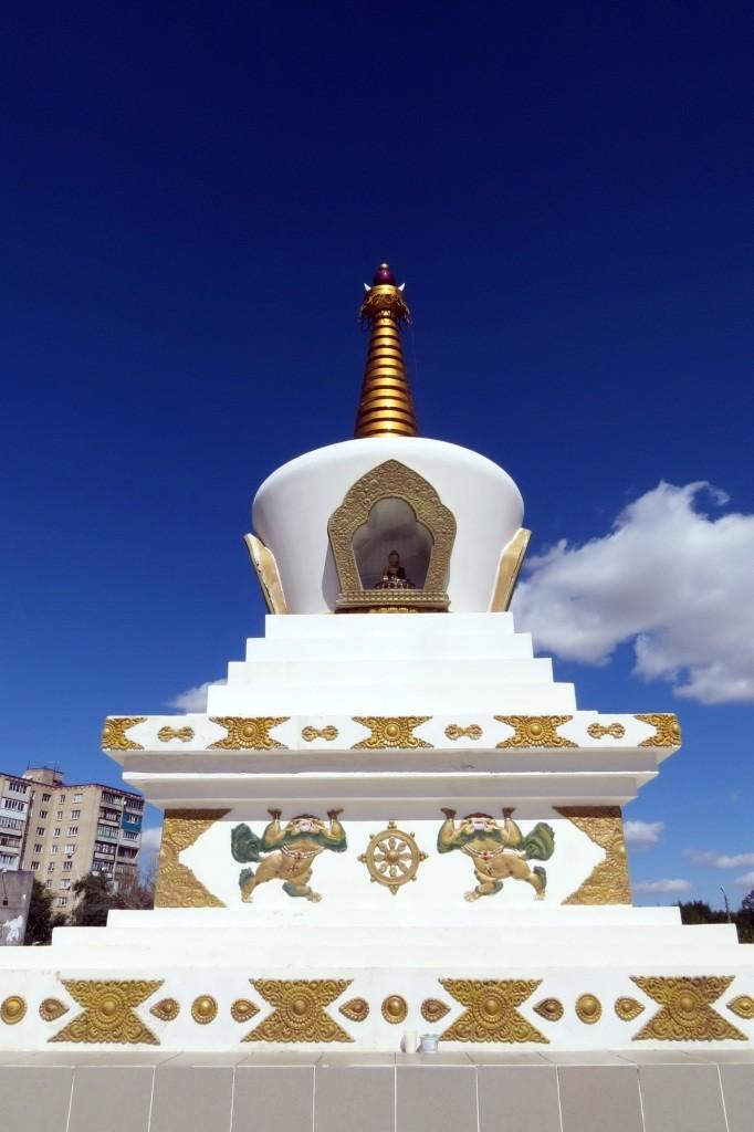 Ступа Просветления, Элиста, буддизм, пагода, ступа