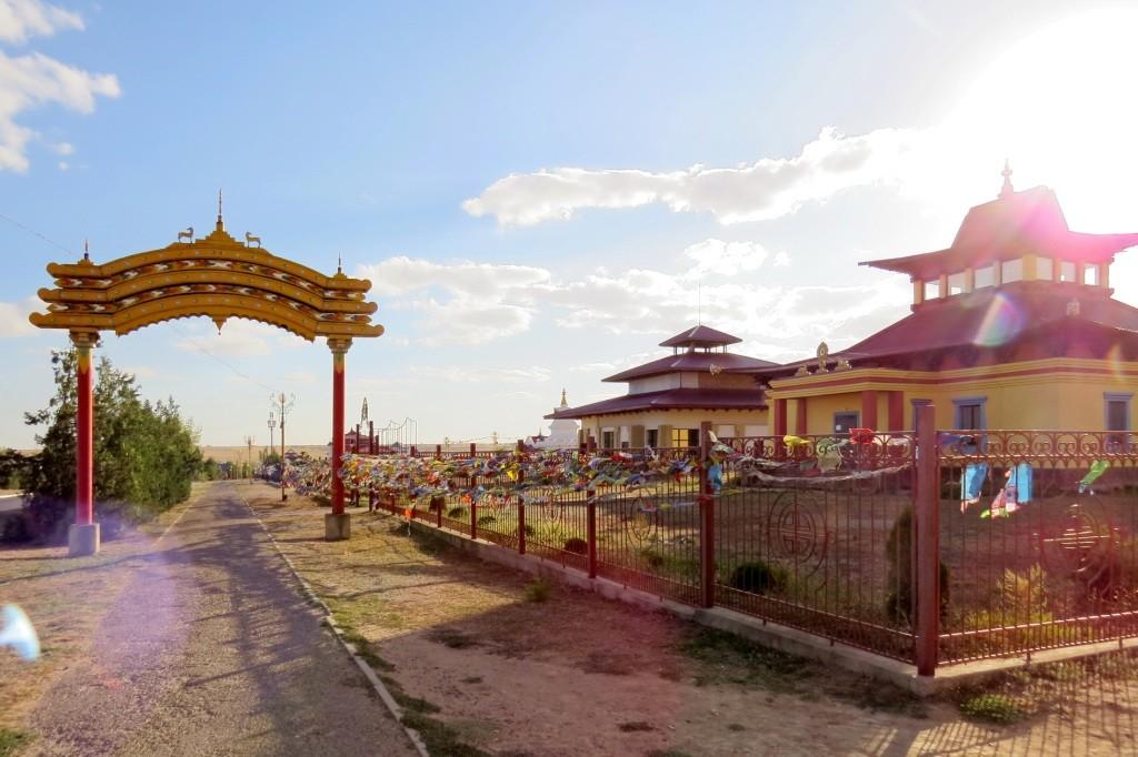 Элиста, буддизм, пагода, ступа
