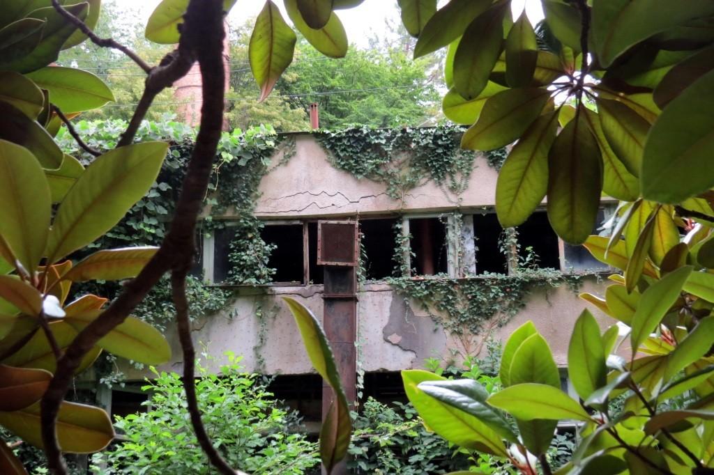 Абхазия, заброшенные здания