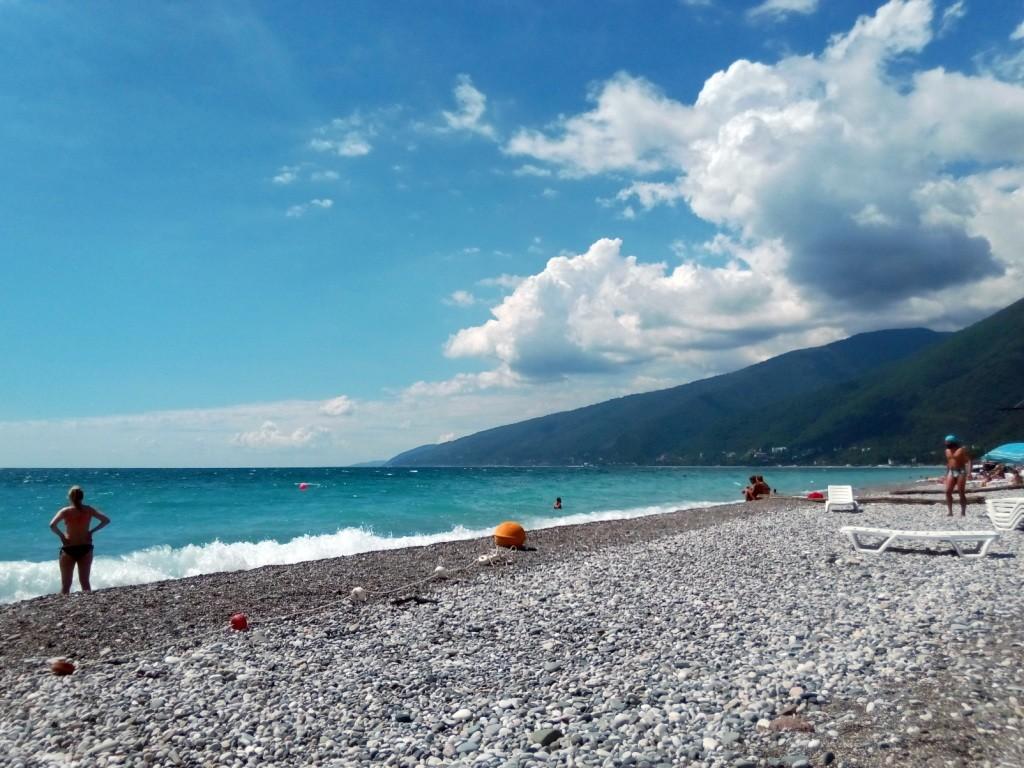 Абхазия, море, отдых