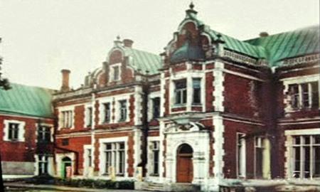 Усадьба Пашковых, Ветошкино, дворец, Нижегородская область, старое фото