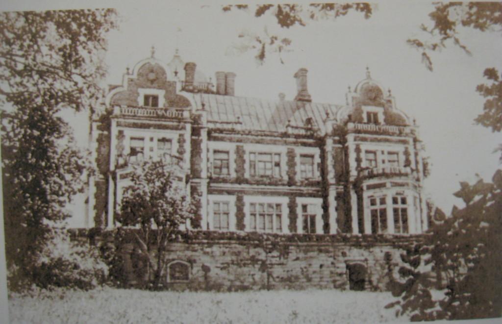Старое фото, Усадьба Пашковых, Ветошкино, дворец, Нижегородская область