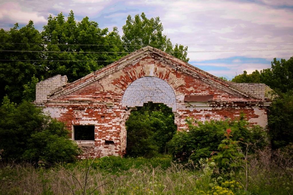 Конюшни, Усадьба Пашковых, Ветошкино, дворец, Нижегородская область