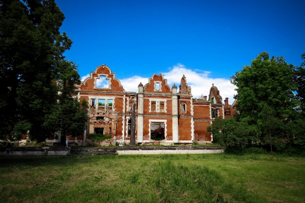 Усадьба Пашковых, Ветошкино, дворец, Нижегородская область