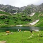 Сказочная красота озера Мзы. Когда горы манят