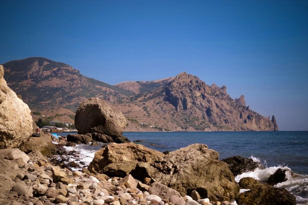 Лисья бухта, Кара-Даг, Крым, отдых в Крыму
